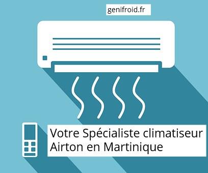votre spécialiste climatiseur Airton en Martinique