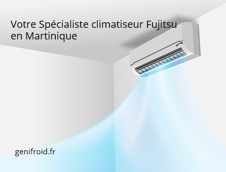 spécialiste climatiseur Fujitsu en Martinique