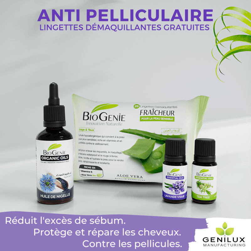 Box spéciale remède anti pelliculaire