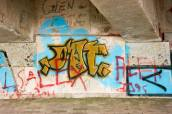 3Graffiti - N2 Freeway bridge over the Mtwalume river, KZN