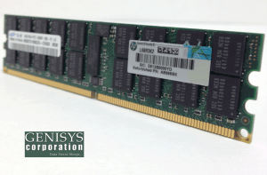 HP AB566BX 4GB DDR2-667MHZ PC2-5300 Memory Module at Genisys