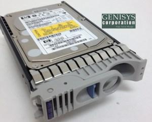 HP A6983A 73 GB SCSI Ultra320 15k RPM Hot Swap Hard Drive at Genisys