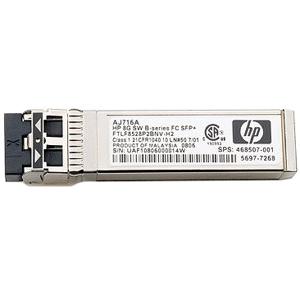 AJ717A HP 8Gb Long Wave B-series 10km Fibre Channel 1 Pack SFP+ Transceiver