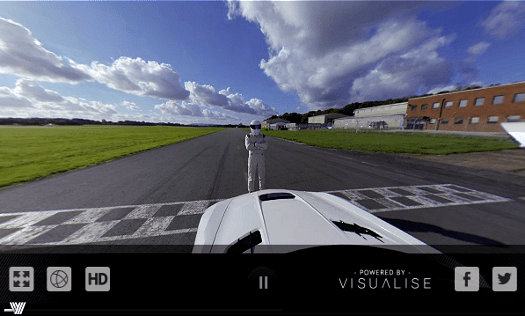 360° Power Lap with The Stig | Genisys