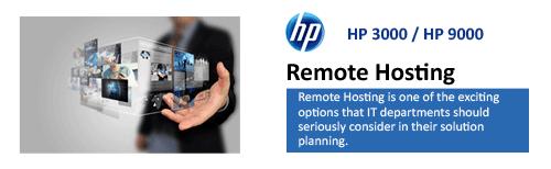 HP Server Remote Hosting