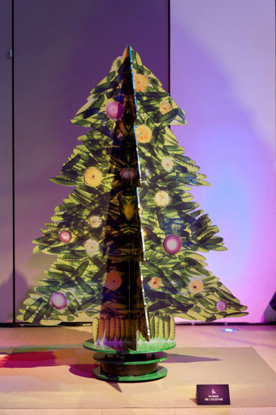 Designer Christmas Trees Exhibition Fashion Amp Wear