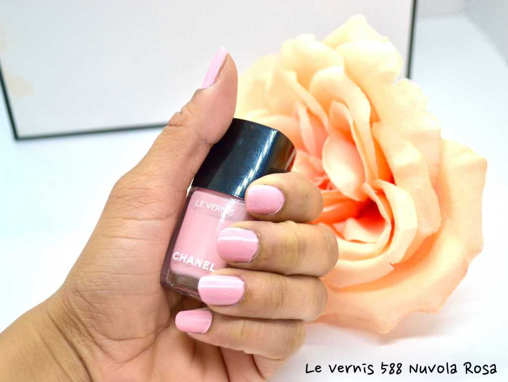 swatch of chanel nail color