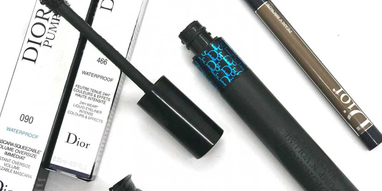 DiorShow Pump 'N' Volume Mascara & On Stage Liner – Review+Swatches+Beauty Look