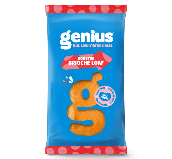 Genius BOOSTED BRIOCHE LOAF - Active Cultures & Gluten Free