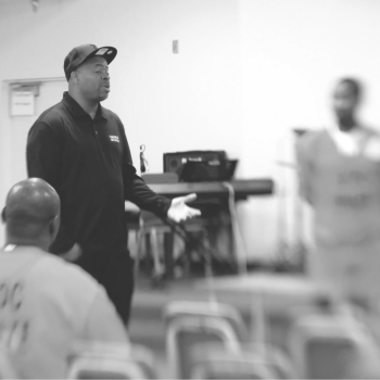 Andre Norman Academy of Hope Teaching in a Prison