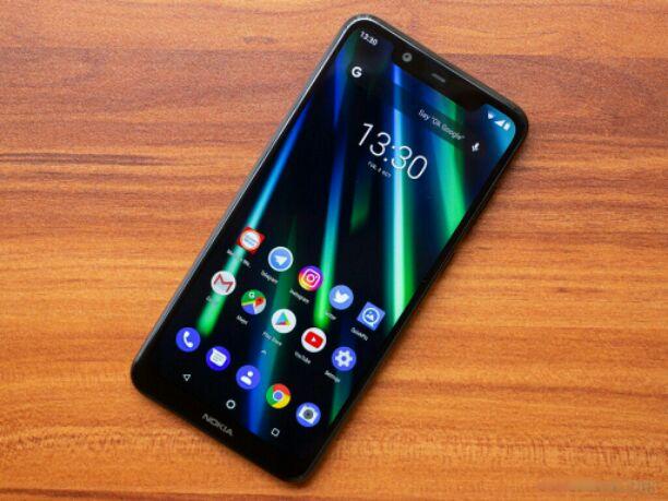 Nokia 5.1 plus display