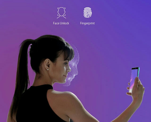 Infinix Hot 6 Pro fingerprint