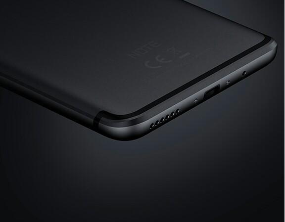 Infinix Note 4 Pro design