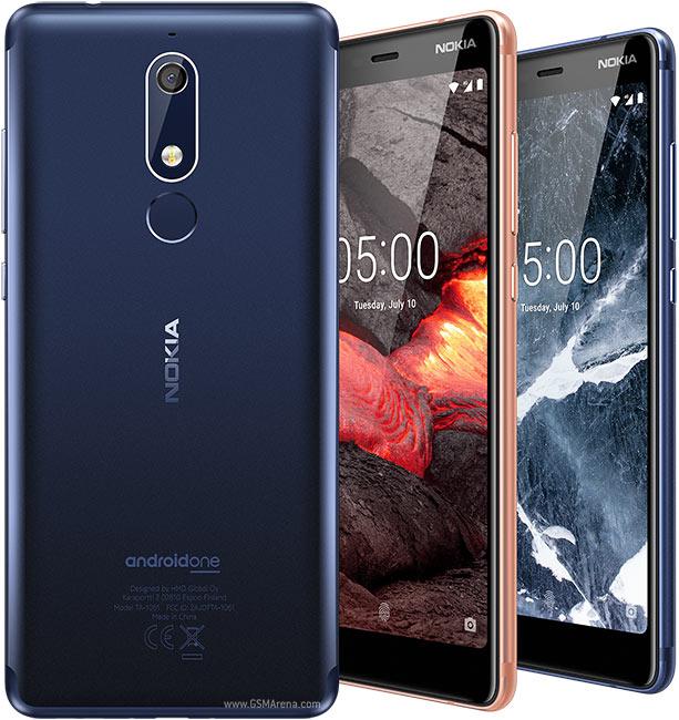 Nokia 5.1 display