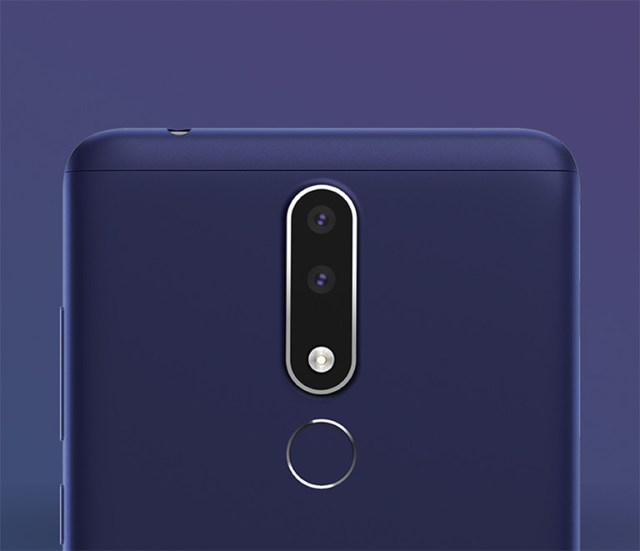 Nokia 3.1 plus fingerprint
