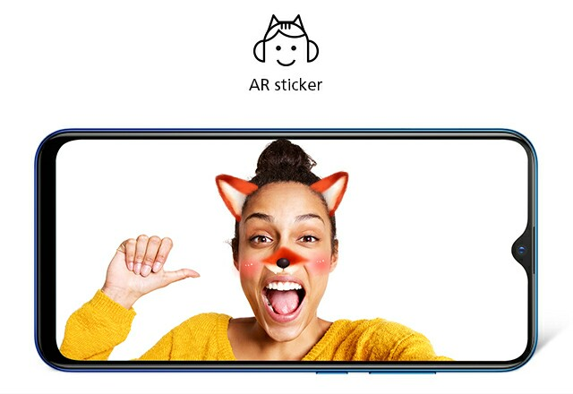 Infinix ar stickers