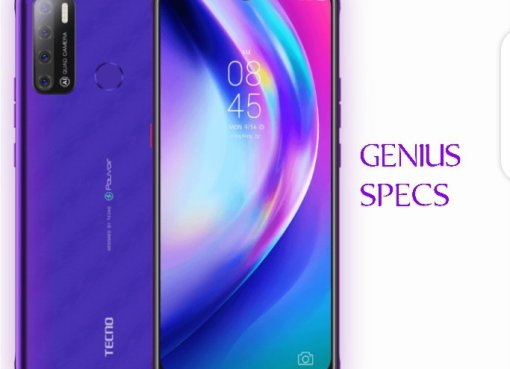 Tecno pourvoir 4 fascinating purple