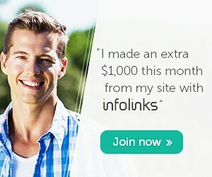 Earn from your site infolinks