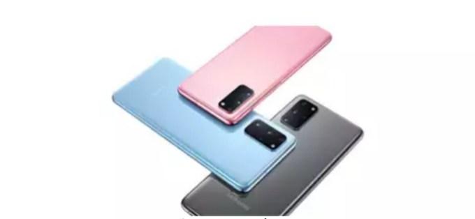 Samsung Galaxy S20 colours