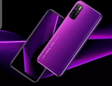 Infinix Note 7 lite purple