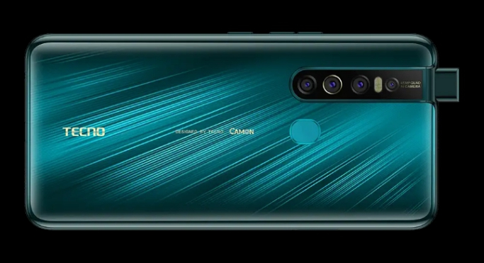 Tecno Camon 15 Pro design