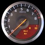 タコメーターレス車が当たり前な今、タコメータの見方を知れば必要な時はある。