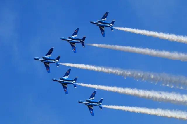 ブルーインパルス飛行時間2020年5月29日は何時からで飛行経路/ルートはどこ?