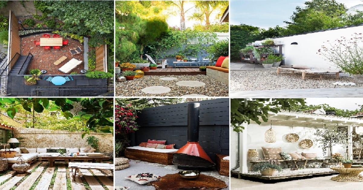 10 Beautiful Grassless Ideas For Your Backyard Spaces ... on Grassless Garden Ideas  id=46727