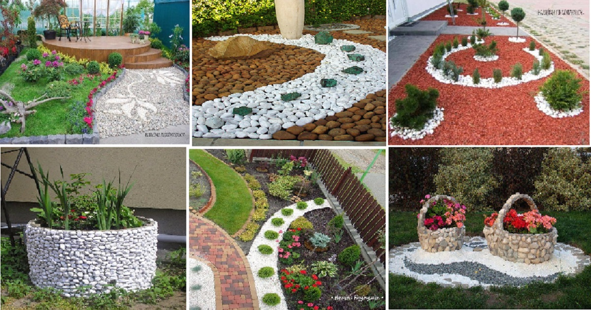10 Best Ideas With Pebbles For Your Garden Areas - Genmice on Backyard Pebbles Design id=86548