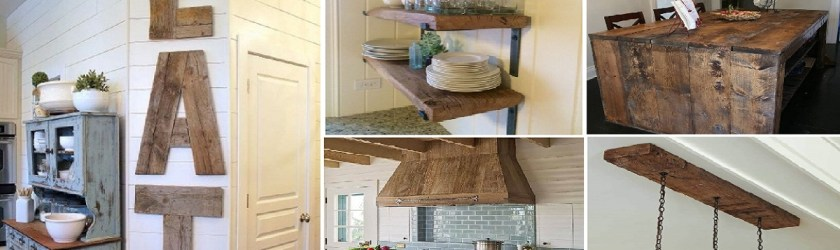 10 Charming Ways To Enhance Wooden Ideas For The Interio