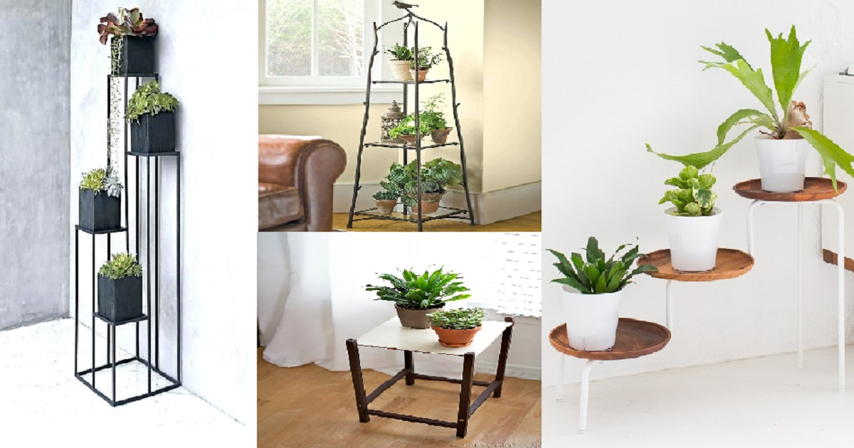 Creative DIY Plant Stand Ideas That Will Truly Amaze you ... on Plant Stand Ideas  id=64116