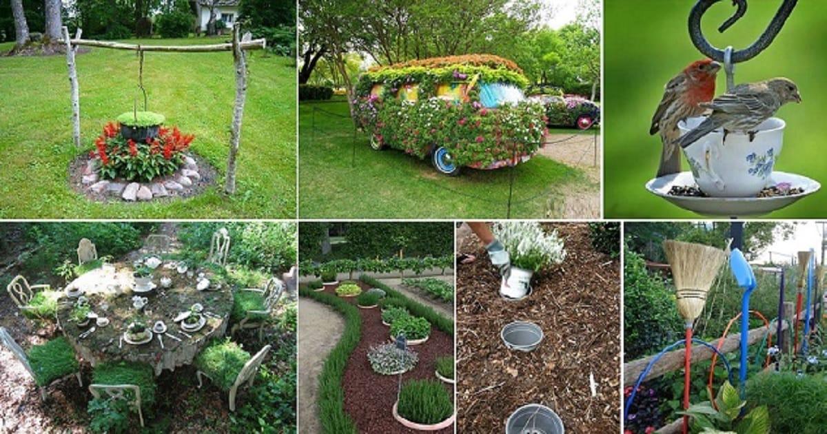 Most Inspiring And Creative Gardening Ideas