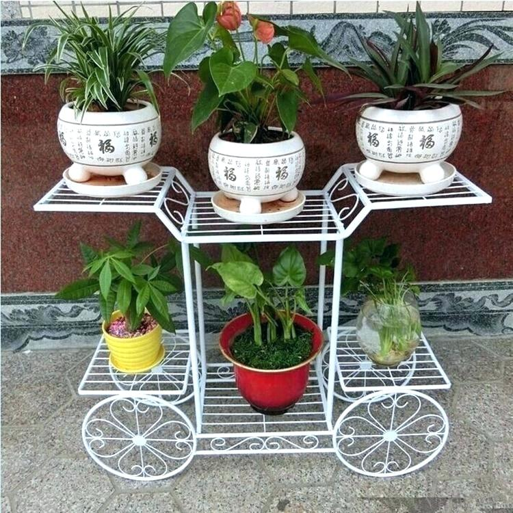 Most Stunning Iron Wrought Plant Stand Ideas That You Will ... on Iron Stand Ideas  id=46311