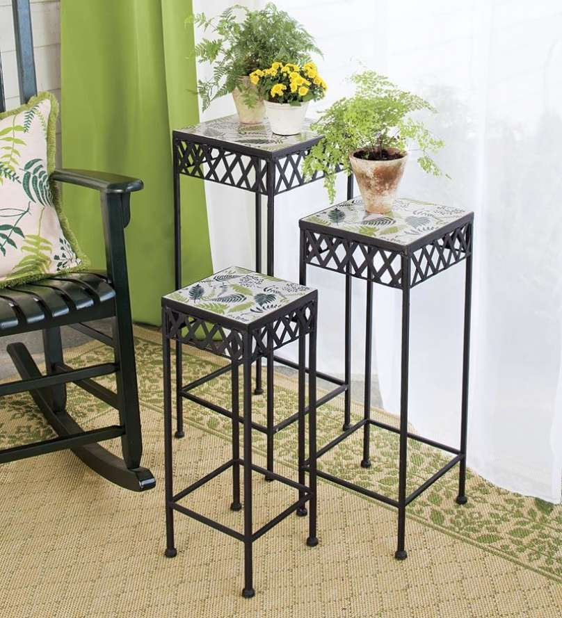 Most Stunning Iron Wrought Plant Stand Ideas That You Will ... on Iron Stand Ideas  id=40108