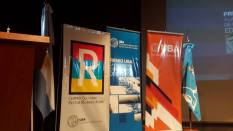 Parte del escenario de los Premios UBA