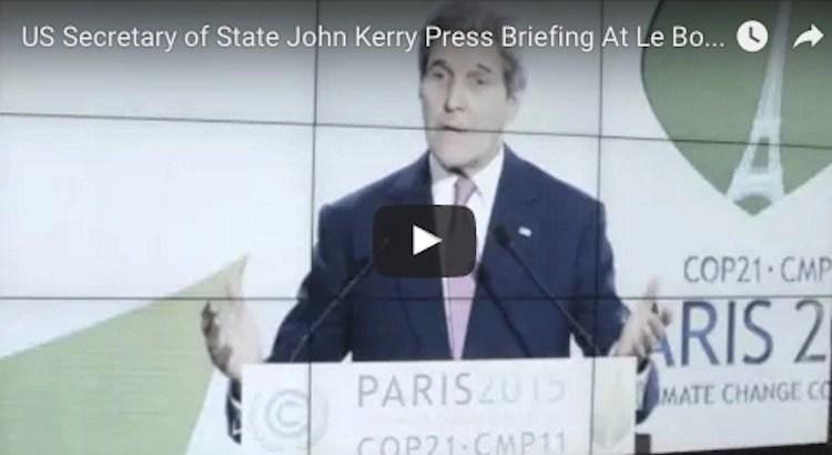 John Kerry COP21