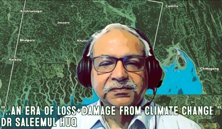 Dr Saleemul Huq | Adapt Now!