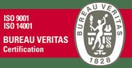 Certificazioni ISO 9001 e 14001