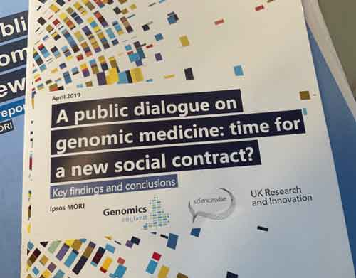 Image: a public dialogue on genomic medicine: time for a new social contract? Key findings and conclusions