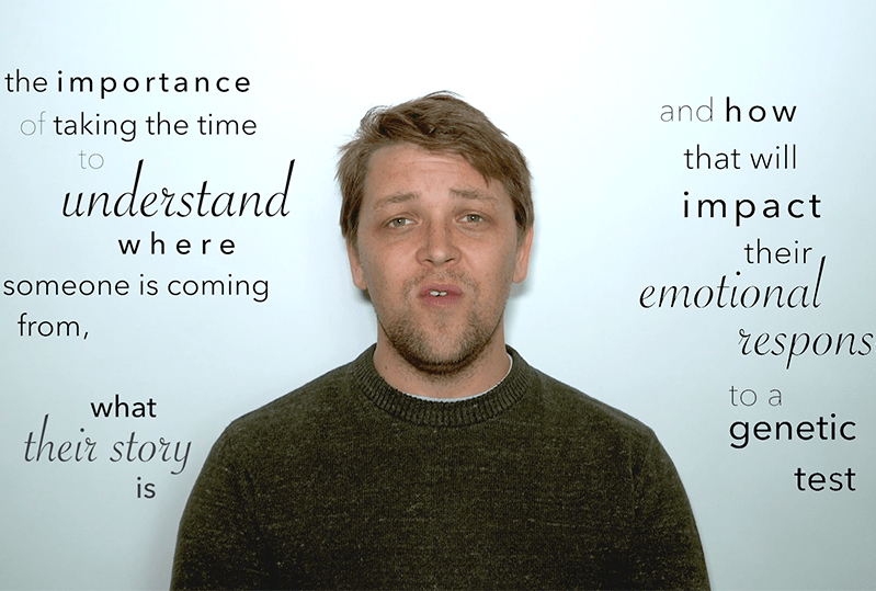 Jonathan's research delves deeper into patient stories and how thy impact emotional response.