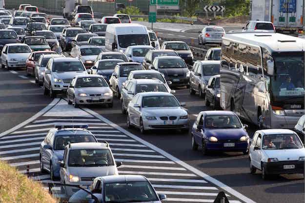 Acode traffico autostrada