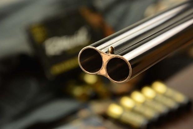 fucile puntato