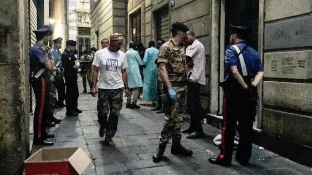 piazza santo sepolcro controlli carabinieri