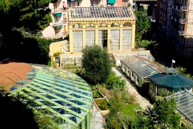 villa Pallavicini serre giardino botanico