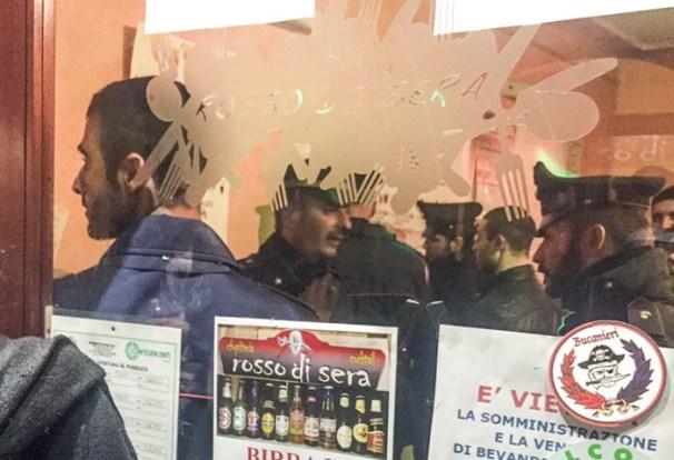 carabinieri locali locale movida