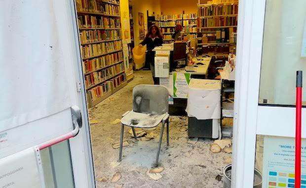 biblioteca bruciata molassana