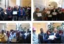 Cittadini che curano il verde premiati dal municipio Centro Est