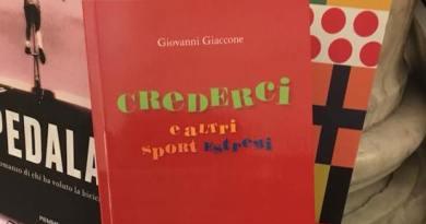 """""""Crederci e altri sport estremi"""", domani il libro di Giaccone alla libreria Feltrinelli"""