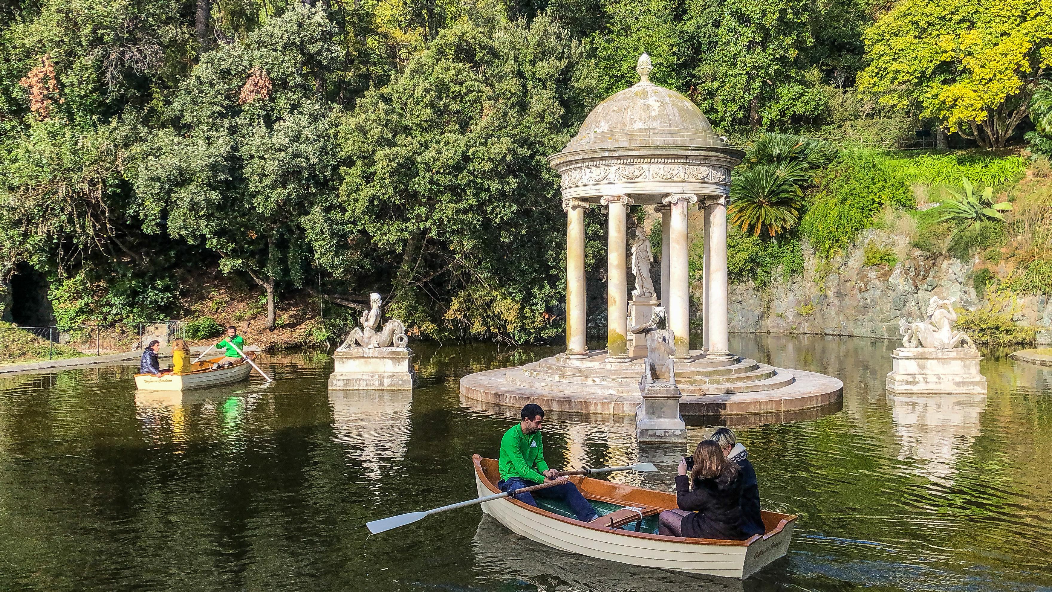 barche villa Pallavicini lago grande