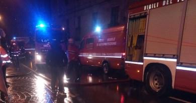 Albero caduto, chiusa via Ovada in direzione di Mele